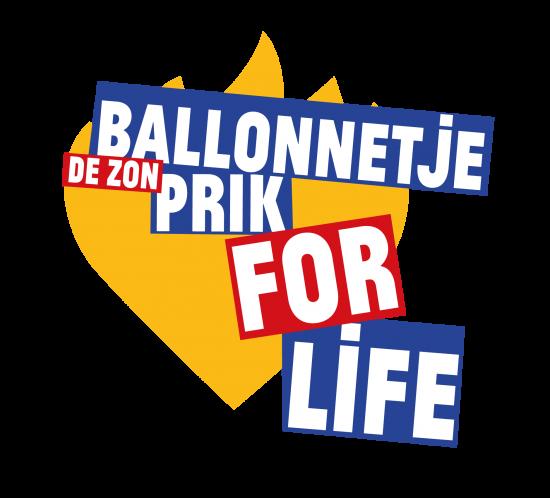 Ballonnetje Prik For Life